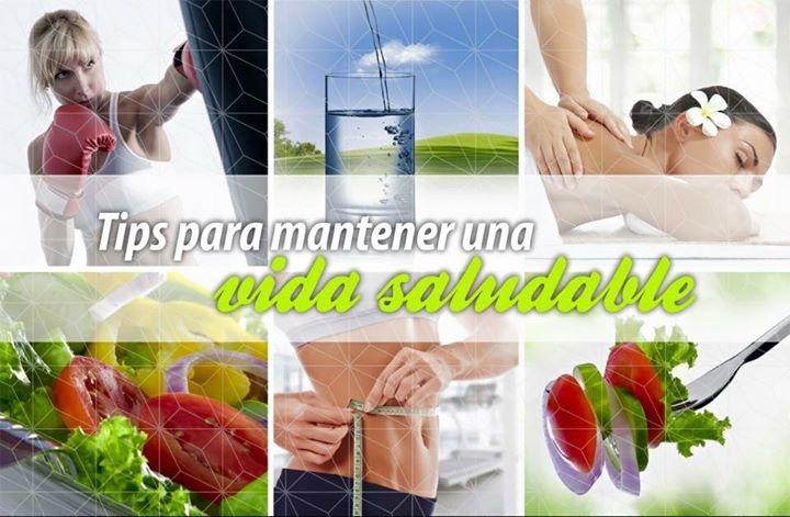 Tips para mantener un estilo de vida saludable