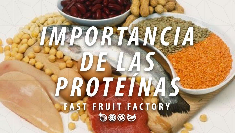 ¿Por que es importante incluir proteínas en tu alimentación?